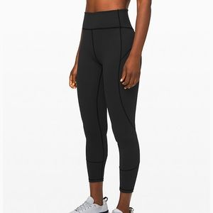 Lululemon Everlux in movement leggings 25""